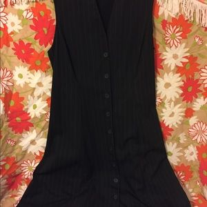 Worthington dress pinstriped